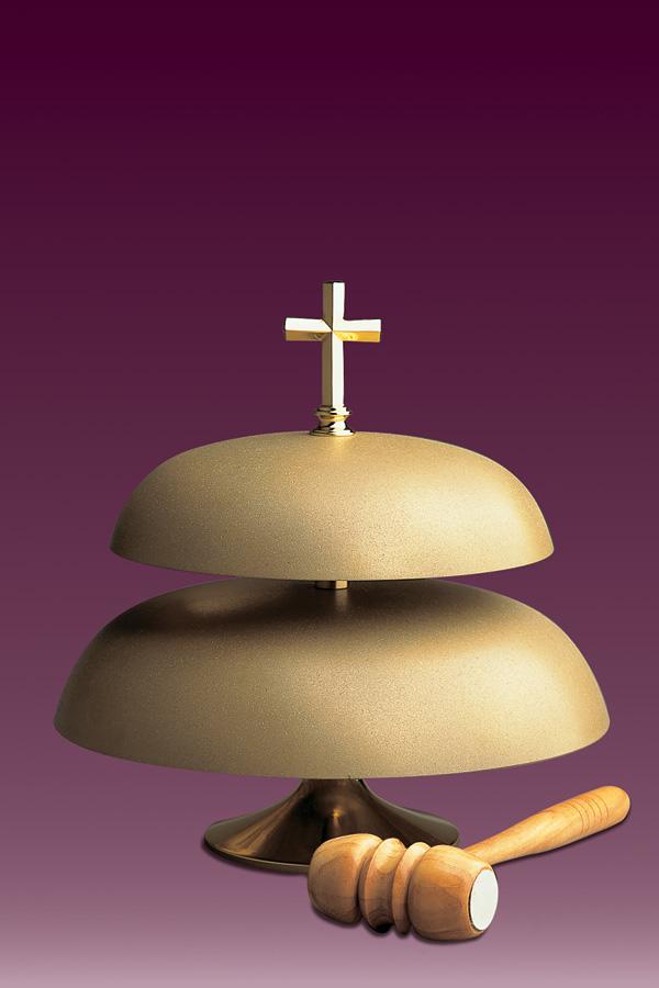 Gong kościelny 145 dwutonowy matowy