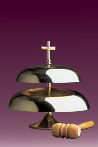 Gong kościelny 146 dwutonowy błyszczący