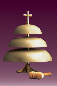 Gongi kościelne: nr 151 trójtonowy matowy