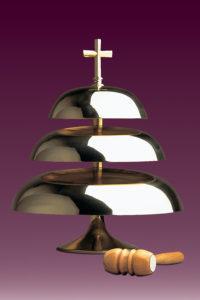 Gongi kościelne: nr 152 trójtonowy błyszczący