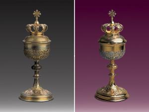 zlocenia i renowacje naczyn liturgicznych - puszka