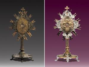 zlocenia i renowacje naczyn liturgicznych - relikwiarz